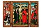 -  Drieluik kruisiging - Postkaart -  QA346-1