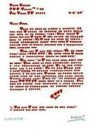 Giora Katri  -  A love letter. - Postkaart -  QC147-1