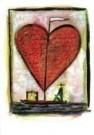 Walter van Lotringen (1951)  -  Sacred Heart - Postkaart -  QC213-1
