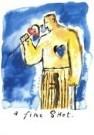 Walter van Lotringen (1951)  -  A fine shot - Postkaart -  QC217-1