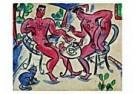 Eddy Varekamp (1949)  -  Heren aan de thee. - Postkaart -  QC280-1