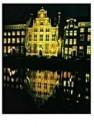 Piet van der Meer  -  Keizersgrch,A'dam - Postkaart -  QC305-1
