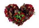 Mirja de Vries  -  Flowerhearts No.5 - Postkaart -  QC366-1