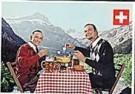 Arthur Mebius  -  Fondue - Postkaart -  QC436-1