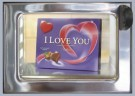 Rolf Unger  -  The I Love You automatiek a typical Dutch vending - Postkaart -  QC483-1