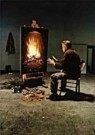 Teun Hocks (1947)  -  Untitled - Postkaart -  QF023-1