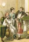 Anoniem  -  Sinterklaas, ca.1890 - Postkaart -  QSINT001-1