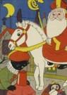 Dick Vendé  -  Sinterklaas, ca.1950 - Postkaart -  QSINT017-1