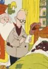 Dick Vendé  -  Sinterklaas, ca.1950 - Postkaart -  QSINT020-1