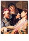 Rembrandt Van Rijn (1606/7-'69 -  De flauwgevallen patiënt (De reuk) - Postkaart -  REM001-1