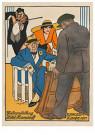 Willy Sluiter (1873-1949)  -  Tentoonstelling Hotel Hamdorff - Boek of schrijfwaren -  RPC038-1