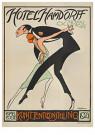 Willy Sluiter (1873-1949)  -  Hotel Hamdorff Laren N.H. - Boek of schrijfwaren -  RPC040-1