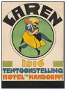 Willy Sluiter (1873-1949)  -  Laren Tentoonstelling - Boek of schrijfwaren -  RPC045-1
