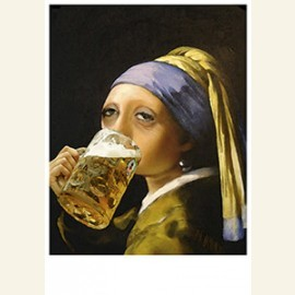Girl with the beer