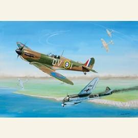 Supermarine Spitfire + Junkers Ju 88