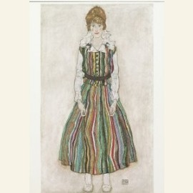 Portret van Edith Schiele, 1915