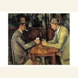 Kaartspelers - les joueurs des cartes, 1890/95