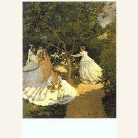 Femmes au jardin, 1866-67
