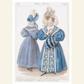 Modeprent uit 1831 uit het Journal des Dames et de