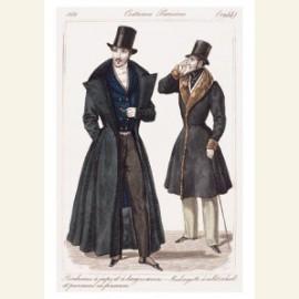 Modeprent 1831 Journal Dames