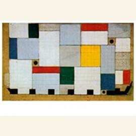 Kleurontwerp voor het plafond van de Café-brasserie, 1927