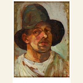 Selfportrait with Hat, 1906