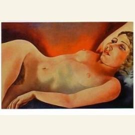 Liggend naakt, 1932