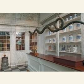 Entree museum en winkel