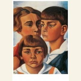Portret van de kinderen Radecker