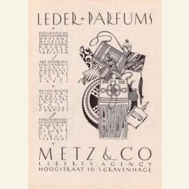 Advertentie Metz & Co, filiaal Den Haag