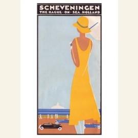 Omslag brochure:'Scheveningen',1930