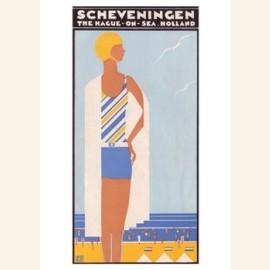 Omslag brochure:'Scheveningen', 1930