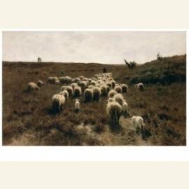 De terugkeer van de kudde, Laren 1886-87