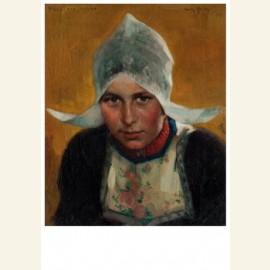 Portret Hille Kwakman, 1909