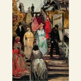 De molen Le Blute-fin (detail)1886