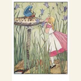 Uit: Alice's avonturen in Wonderland