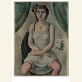 Meisje in neglige, 1923