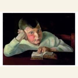Lezende jongen, 1924