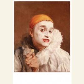 Zelfportret als pierrot- Self-portrait as pierrot