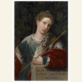 Portret van een vrouw als Salomé,ca.1537