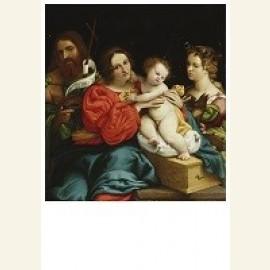 Maria met kind en de st. Joh.de Doper en Catharina v.Alexand