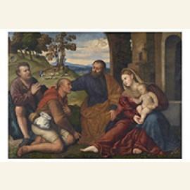 Aanbidding van de herders, ca 1530