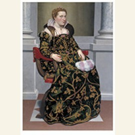 Portret van Isotta Brembati, ca 1552-1553