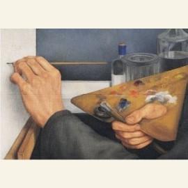 Schilderende handen, 1930