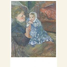 Mère Et Enfant?Julie Pissarro Et Son Fils Ludovic-Rodolphe D