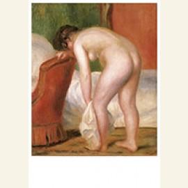 Nude Woman Drying Herself