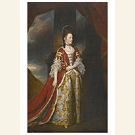 Portrait Of Mary Christina Conquest, Lady Arundell Of Wardou