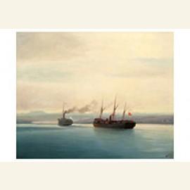 Capturing Of The Turkish Ship Mersina