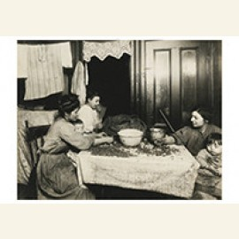 Tenement Home-Work, N. Y. City (Shelling Nuts)