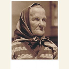 Czech Grandmother At Ellis Island